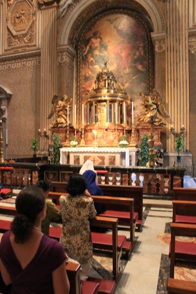 Adoration at the Vatican